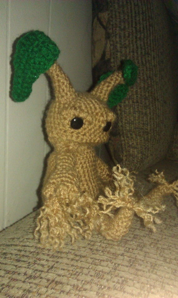 Crochet Mandrake Crochet Harry Potter Mandrake root doll
