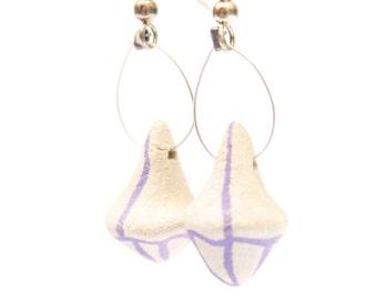 Earrings ceramic (stoneware)