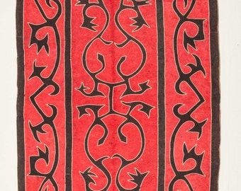8'6'' x 4'7'' Vintage (1971) Dagestan Pure Wool FELT Rug, Ships free w,ith ups.