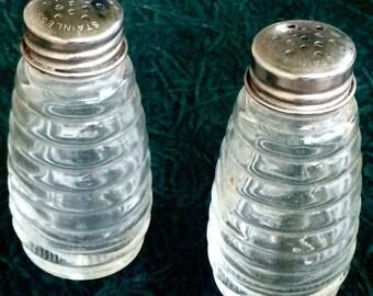 Retro Restaurant-Style Salt & Pepper Shakers