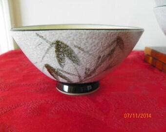 Set of 6 Stoneware Rice Bowls With Textured Glaze