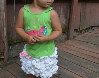 Cotton Crochet Skirt (White Russian Pattern)