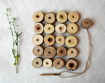 Lacing Wooden Toy/ Wood Lacing Set/ Waldorf Toy/ Montessori Toy/ Educational Toy/ Baby Toy/ Wooden Toy