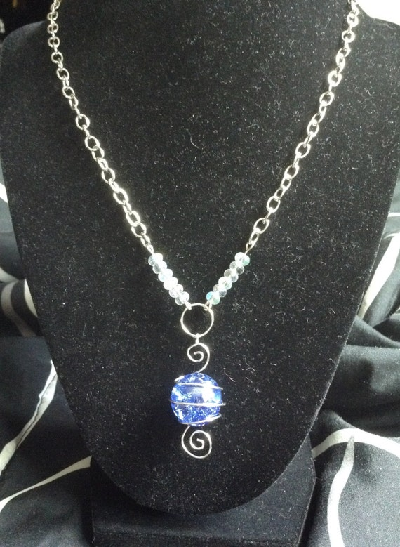 Items similar to made to order cracked marble necklace on etsy for How to make marble jewelry