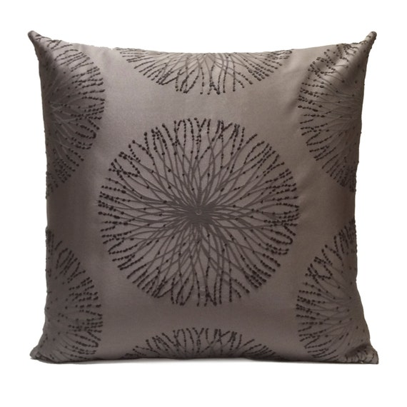 Charcoal Gray Pillow Throw Pillow Cover Decorative Pillow