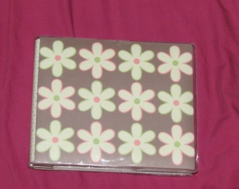 Handmade 6 x 6 Flower cover album.