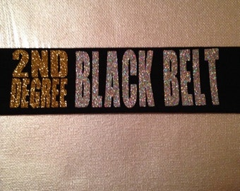 Black belt headband