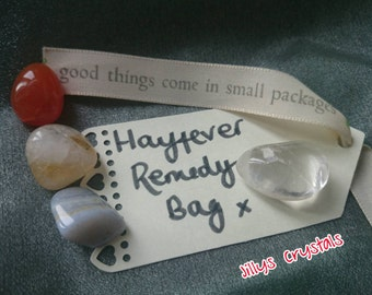 Hayfever Crystals, Hayfever Remedy, Allergy Crystals, Allergy Crystal Kit, Allergy Crystal Bag