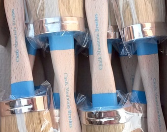 "4 Chalk Paint Brushes These are sold as  ""Seconds"" Medium Size Brushes with Boar Bristles"
