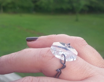 handcrafted wire wrapped ring