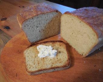 English Muffin Bread- Homemade