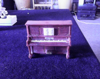 Vintage Miniature Piano