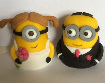 Minion bride and groom (10 days for making)