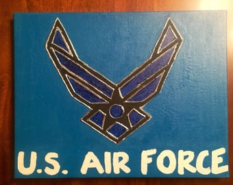 Air Force Canvas Painting