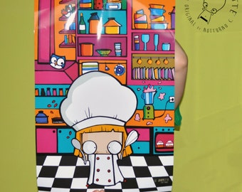 Poster Chef Cook Garcia