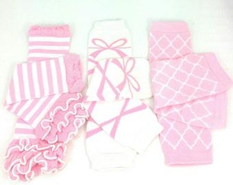 Girls leg warmers 3 pack gift set