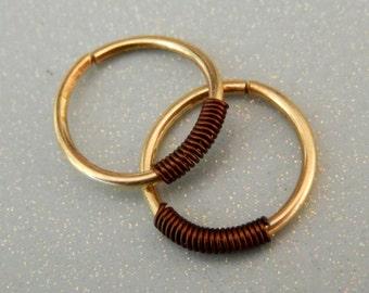 Mens Hoop Earring - Hoop Earring For Men - Gift For Men - Cartilage Hoop Earrings - Tragus Piercing