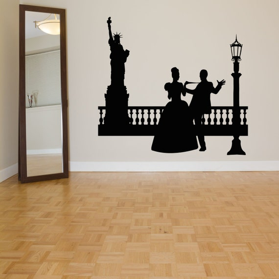 New York City Love Wall Decal by RoomDecalsAndDesigns