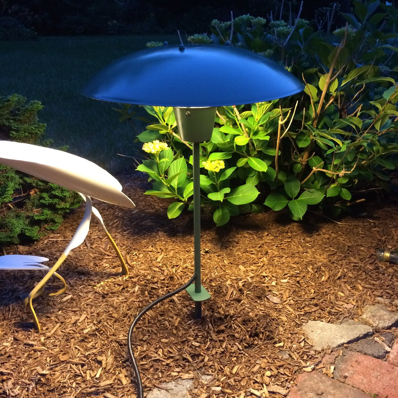 mid century landscape lighting vintage patio lighting garden