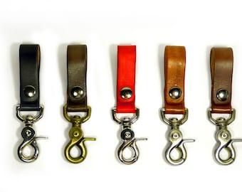 Real Leather Belt Key Hook