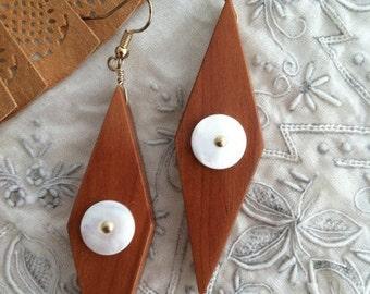 OOAK Harlequin Eyes Earrings
