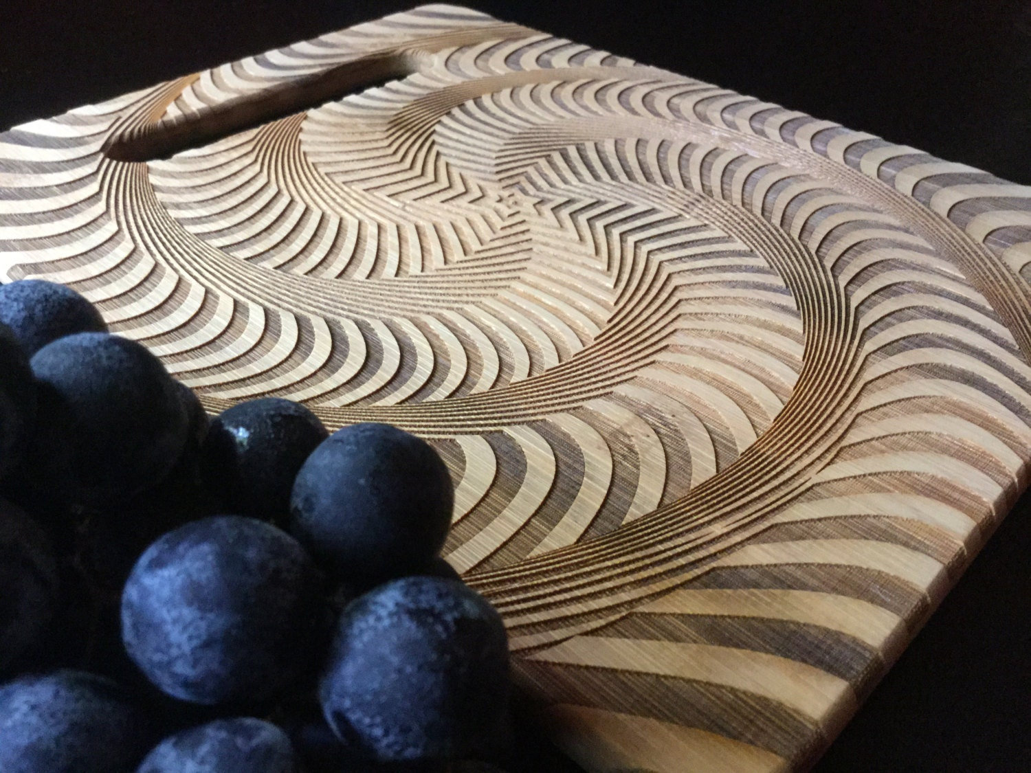 Optical Illusion Engraved Cutting Board Personalized Gifts