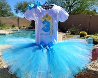 Personalized Frozen Elsa tutu, Queen Elsa Birthday outfit. Halloween costume
