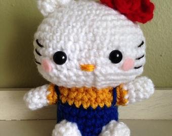 Hello Kitty Amigurumi Ohje Suomeksi : crochet amigurumi hello kitty Etsy