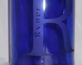 """Personalized Wine Bottle Tiki Torches- Style """"Ryner"""""""