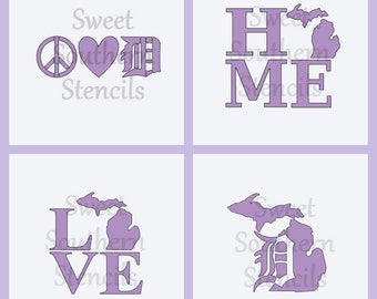 Michigan Stencils