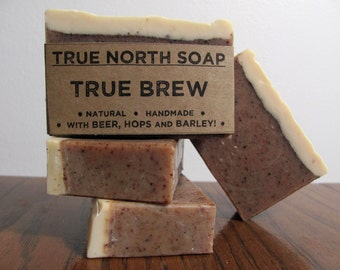 True Brew Beer Soap - All Natural Soap, Cold Processed Soap,