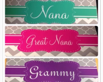 Nana grammie mimi License plate car tag new metal personalized car tag personalized license plate
