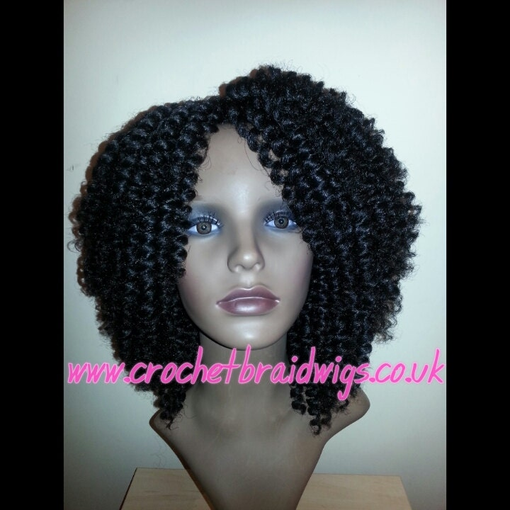 Crochet Wig : Crochet Braid Wig by CrochetBraidWigs on Etsy