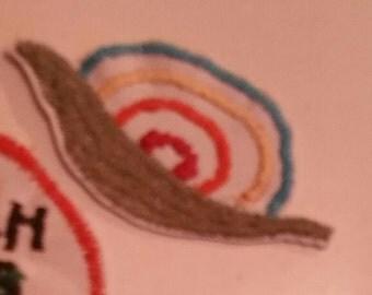 Rainbow snail patch