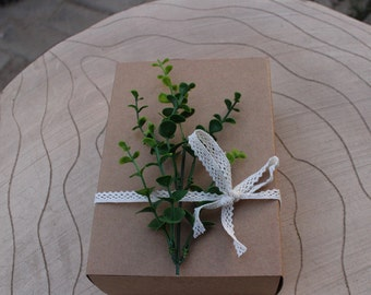 Blank kraft paper box 6 moon cake box cake box cookie box West Point ...