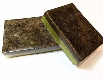 Woodland Moss Soap, Sapmoss Soap, Moss Soap, Musk Soap, Earth Soap, Handcrafted Glycerin Soap Bar, Summer Soap, Vegan Soap, Spring Soap