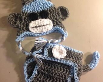 Sock Monkey Inspired Set