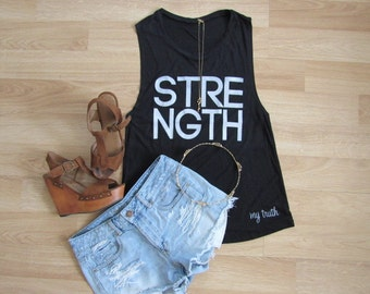 STRENGTH MUSCLE TANK