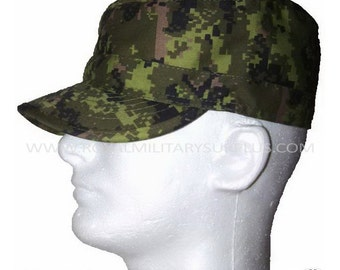 Field Cap - Canada Army Digital Canadian Camouflage Pattern - CADPAT (Temperate Woodland)