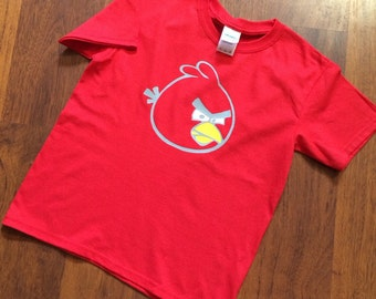 Custom Personalized Angry Birds Shirt
