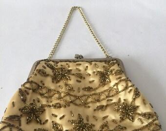 Antique Satin Handbag