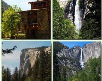 "National Parks Photography, 'Yosemite National Park Centennial 5 X 7 Notecards Set"", Yosemite National Park Prints, Travel Photography"