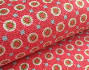 Ditto Dots PINK from Whimsy by Pillow and Maxfield for Michael Miller Fabric
