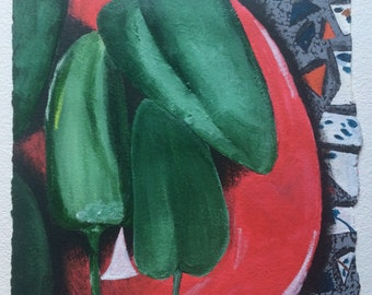 Green Peppers (2015)