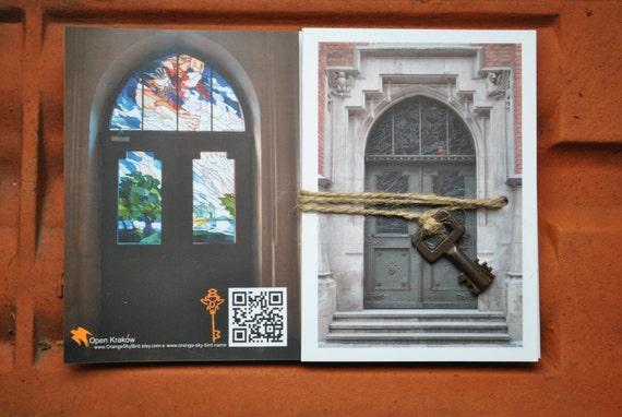 Открытка с дверью ключ светлана краков, поздравления
