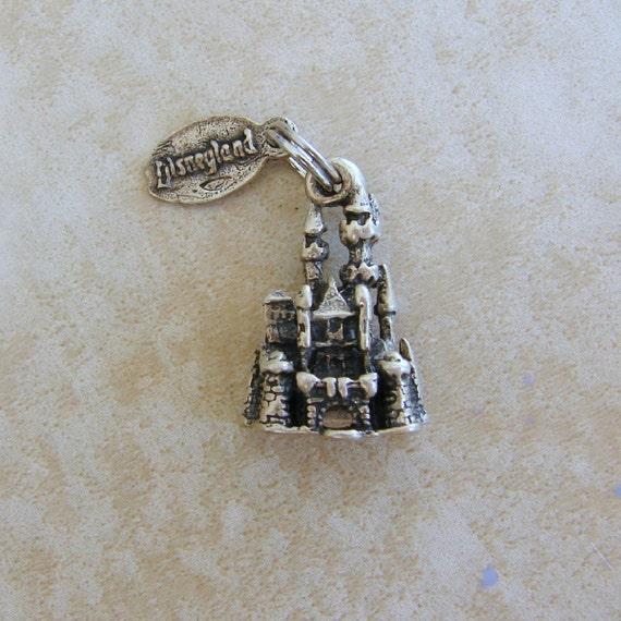 disneyland sleeping castle sterling silver by