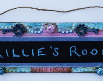 Chalkboard Nameplates for any room!