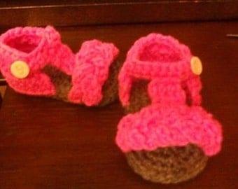 Crochet Baby Footwear