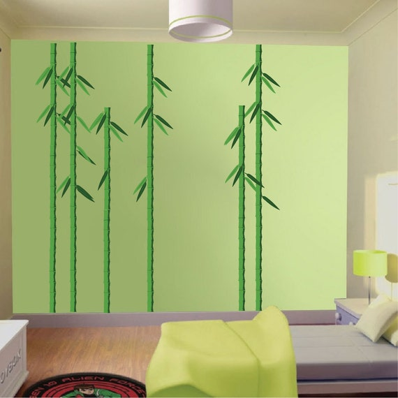 bamboo decals asian wall decal murals asian decals bamboos