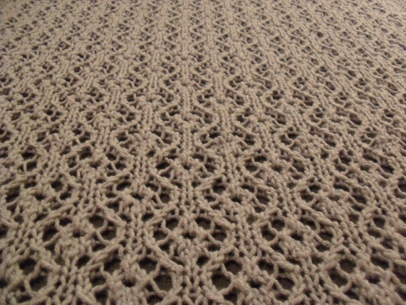 Knitting Pattern For Angel Blanket : Items similar to Knitting Pattern: Eves Angel Baby ...